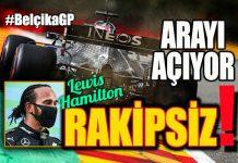 F1 Belçika GP'sini Lewis Hamilton Kazandı!