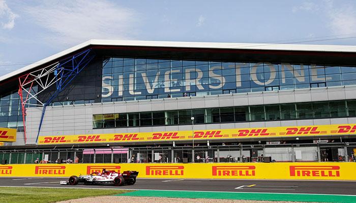 Silverstone f1 pisti