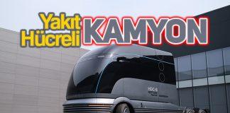Hyundai yakıt hücreli kamyon konsepti HDC-6 NEPTUNE