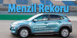 Hyundai KONA EV 1.026 km ile menzil rekoru kırdı!