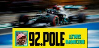 F1 İspanya GP'sinde Pole Pozisyon Mercedes pilotu Hamilton'ın!