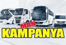 MAN, kamyon, otobüs ve hafif ticari araçlarda 3 ay ödemesiz, 60 ay vade
