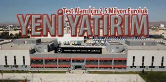 Mercedes-Benz kamyonların şaft testleri Aksaray'da yapılıyor