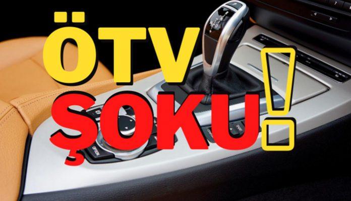 Otomotiv Sektörü'nde ÖTV şoku yaşanıyor!