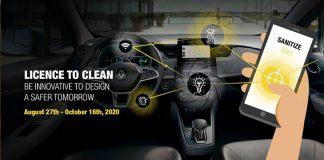 Renault daha hijyen otomobiller için yeni fikirler arıyor!