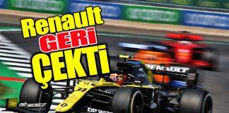 Renault, Racing Point F1 takımı ile ilgili itirazını geri çekti!