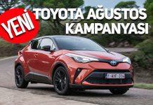 Toyota Ağustos kampanyası