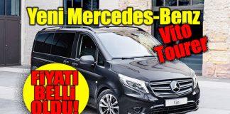 yeni Mercedes-Benz Vito Tourer satış fiyatı