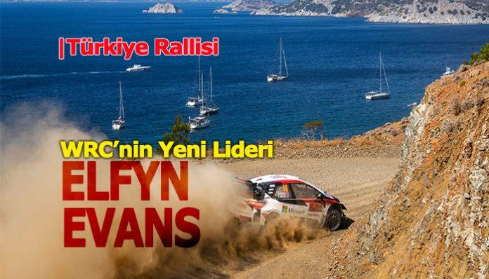 Türkiye Rallisi'nde Toyota pilotu Elfyn Evans sürprizi!