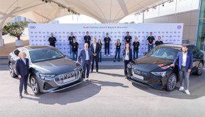 Bayern Münih'e elektrikli Audi
