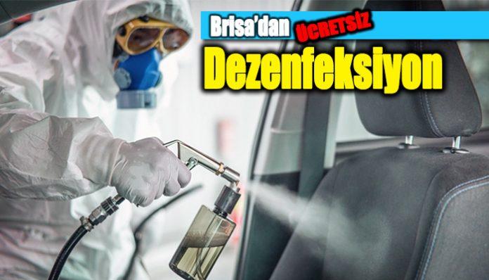 Brisa, Eylül ayı boyunca ücretsiz araç dezenfeksiyon hizmeti sunuyor