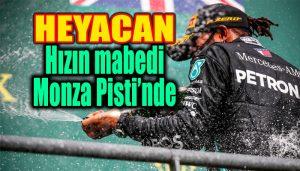 Formula 1 İtalya GP'sinin detayları belli oldu!
