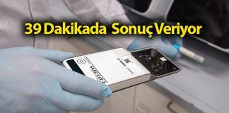 En hızlı koronavirüs test cihazı