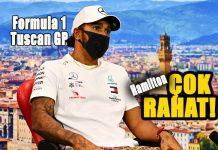 Formula 1 Tuscan GP'sinde pole pozisyon Lewis Hamilton'ın