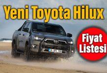 Yeni Toyota Hilux'in Türkiye fiyatı