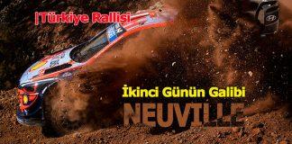 Türkiye Rallisi 2. Gün: Neuville lider, Loeb takipte!
