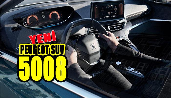 Yeni Peugeot SUV 5008: Mükemmel olmak için tasarlandı