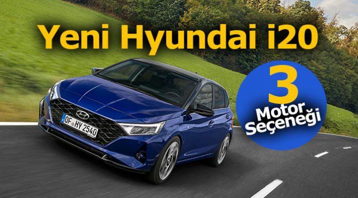 Yeni Hyundai i20 üç farklı motor seçeneği ile satışa sunuldu