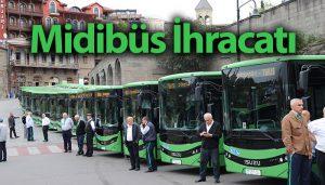 Anadolu Isuzu midibüs ihracatında lider!