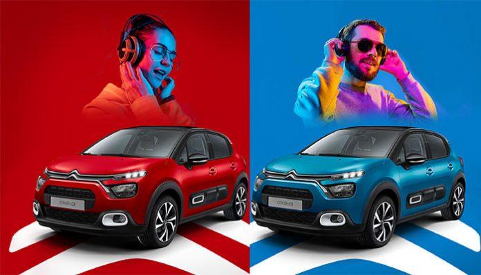 Yeni Citroën C3 ile müzik seninle