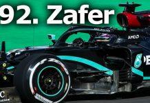 Formula 1'de Mercedes pilotu Hamilton Dünya Rekoru kırdı!