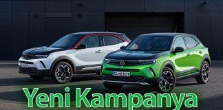 Opel Türkiye'nin yeni kampanya fiyatları belli oldu!