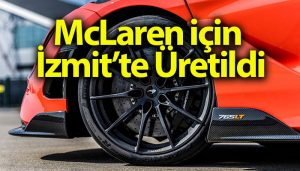 Pirelli, McLaren için İzmit'te üretti: P Zero Trofeo R