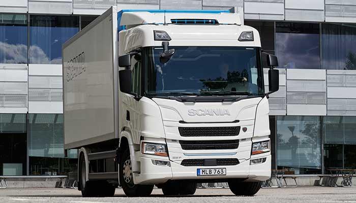 Scania elektrikli kamyon