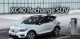 Volvo elektrikli XC40 Recharge