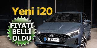 Yeni Hyundai i20 Türkiye satış fiyatı
