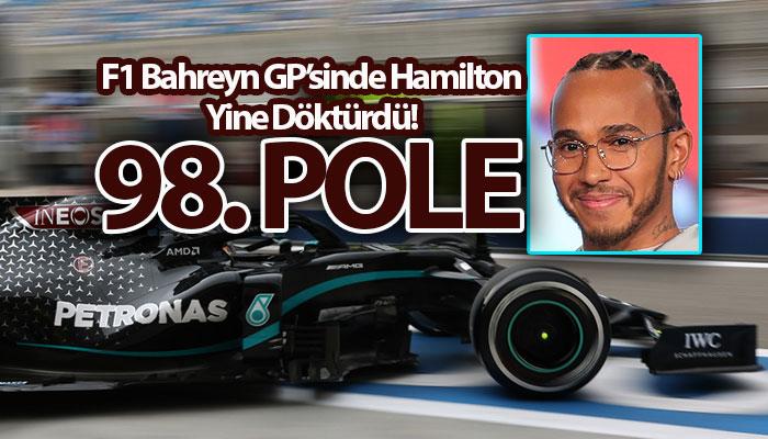Lewis Hamilton Bahreyn GP