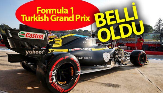 Formula 1 Şampiyonası'nın 14. yarışı olarak sezon ortasında takvime alınan Türkiye GP'sinin şifreleri belli oldu. İstanbul Park'taki yarışın sonucunu lastikler ve pit-stop taktikleri belirleyecek.