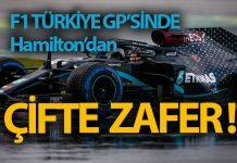 Lewis Hamilton İstanbul'da tarih yazdı!