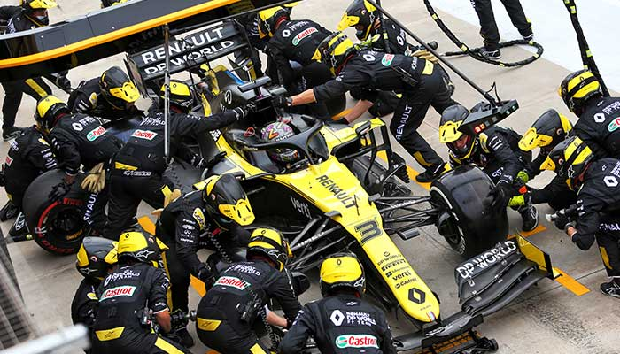 F1 Turkish GP-Renault