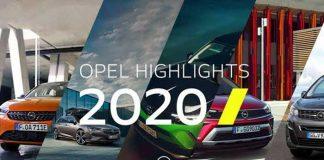 Opel'in 2020 Yılı Özeti