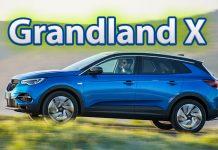 Opel'in SUV modeli Grandland X