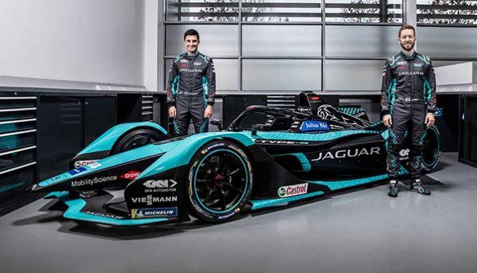 Jaguar'ın yeni elektrikli yarış otomobili I-TYPE 5 sezona hazır