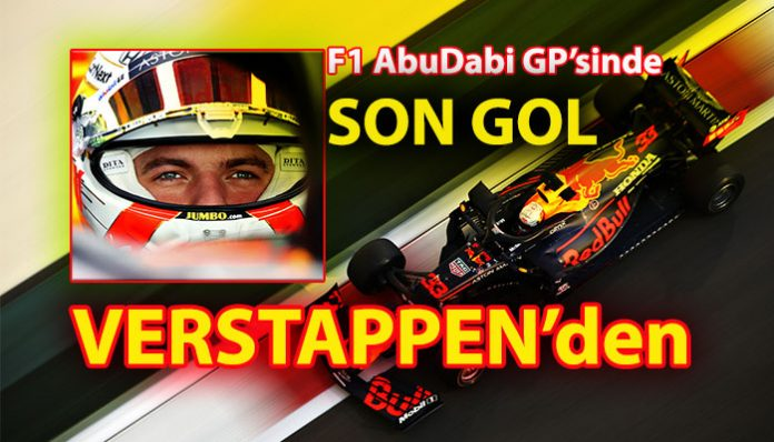 Formula 1 Abu Dabi GP'sinde pole pozisyon Verstappen'in
