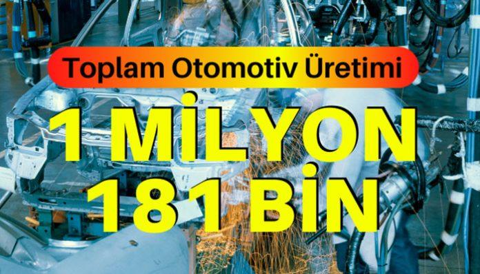 OSD açıkladı: Otomotiv üretimi