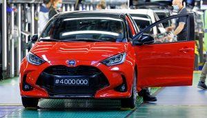 Yaris üretimi 4 milyon adete ulaştı