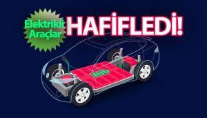 Kordsa, elektrikli araçları karbon fiber kumaş ile hafifletiyor