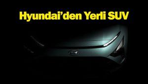 yerli crossover Hyundai Bayon SUV