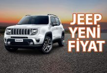 Jeep Yeni Kampanya fiyat