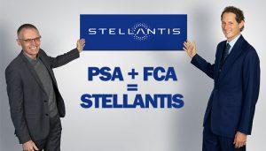PSA+FCA=Stellantis