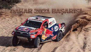 Toyota Gazzo Racing 2021 Dakar Rallisi
