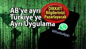 WhatsApp gizlilik sözleşmesi ve veri paylaşımı