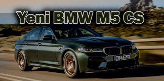 Kısa zaman önce tanıtılan Yeni BMW M3 CS, BMW M4 CS ve BMW M2 CS'den sonra BMW M5 CS, M model ailesinin en tepe noktasında yerini almaya hazırlanıyor.