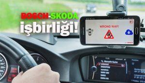 Bosch'un sürücü uyarı sistemi artık SKODA araçlarında!