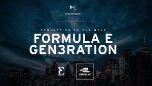DS Automobiles 2026'ya kadar Formula E'de