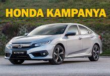 Honda'dan Şubat ayına özel fırsatlar